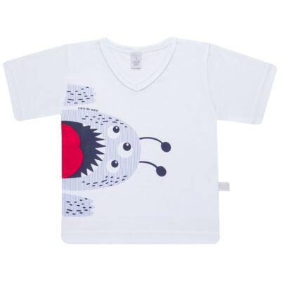 Imagem 2 do produto Pijama curto em malha Monstrinho - Cara de Sono