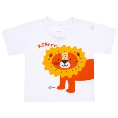Imagem 2 do produto Conjunto de Banho Lion: Camiseta + Sunga Boxer - KIT 1 1922 CCAB+SBB LEAOZINHO-G