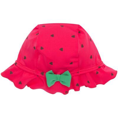 Imagem 4 do produto Conjunto de banho Strawberry: Maiô + Chapéu - Cara de Criança - KIT1-1253: MB1253 MAIO + CH1253 CHAPEU MORANGUINHO-P