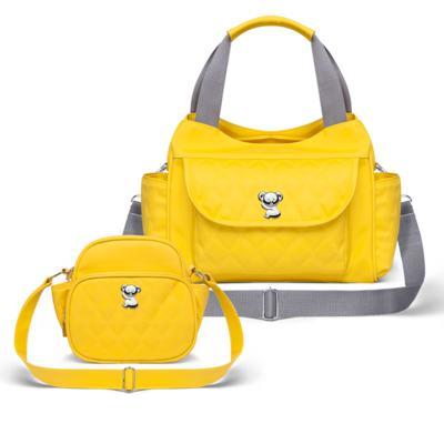 Imagem 1 do produto Kit Bolsa Havana + Frasqueira Térmica Guadalupe Yellow - Classic for Baby Bags