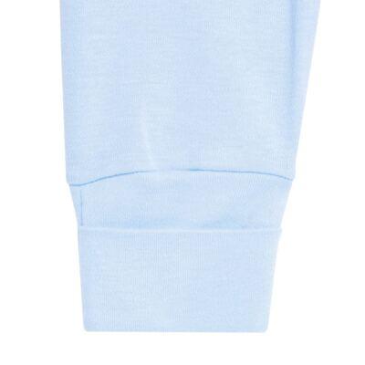 Imagem 5 do produto Pack 2 mijões com pé reversível para bebe em algodão egípcio c/ jato de cerâmica Prince Bear - Mini & Classic - 1025656 PACK 2 MIJOES SUEDINE URSO-P