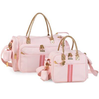 Imagem 1 do produto Bolsa Anne + Frasqueira Amy Sweet Rosa - Masterbag
