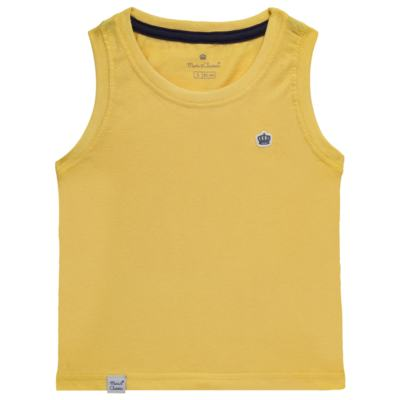 Imagem 1 do produto Regata em malha Amarela - Mini & Classic - 9501672 REGATA MALHA AMARELA-3