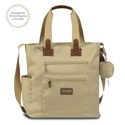 Imagem 2 do produto Bolsa para bebe Theo + Frasqueira Alice Urban Caqui - Masterbag