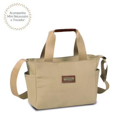Imagem 3 do produto Bolsa para bebe Theo + Frasqueira Alice Urban Caqui - Masterbag