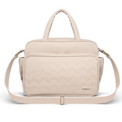 Imagem 3 do produto Mala Maternidade para bebe + Bolsa Turin + Frasqueira Térmica Trento Chevron Ágata - Classic for Baby Bags