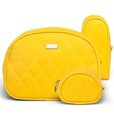 Imagem 3 do produto Kit Acessórios para bebe + Bolsa Havana Colors Yellow - Classic for Baby Bags
