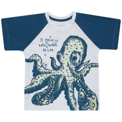 Imagem 1 do produto Camiseta que muda de cor no sol Polvo - CDC T-Shirt - CMC1406-POLVO CMC CDC MASCULINA MG CURTA-3