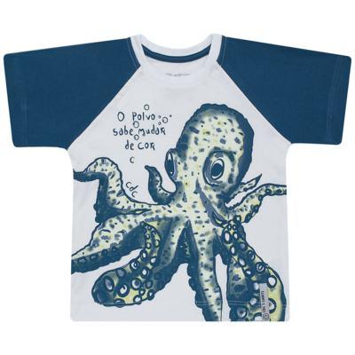 Imagem 1 do produto Camiseta que muda de cor no sol Polvo - CDC T-Shirt - CMC1406-POLVO CMC CDC MASCULINA MG CURTA-6