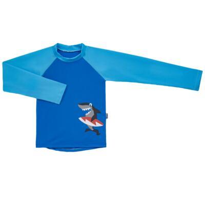 Imagem 2 do produto Conjunto de banho Tubarão: Camiseta + Sunga - Puket - KIT PK TUBARAO Camiseta + Sunga Tubarao-6