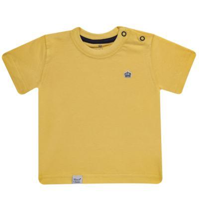 Imagem 1 do produto Camiseta em malha Amarela - Mini & Classic - 6003672 CAMISETA MC MALHA AMARELA-1