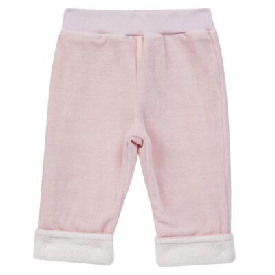 Imagem 1 do produto Calça para bebe em Plush & Pelúcia Rosa - Petit