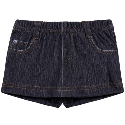 Imagem 1 do produto Shorts Saia para bebe em fleece Jeanswear - Bibe - 10P11-208 SH FEM LOEIL PEQ-M