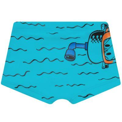 Imagem 5 do produto Conjunto de Banho Maluquinho Mergulhador: Camiseta + Sunga - Cara de Criança - KIT1-1308: SB1308 SUNGA + CCA1308 CAMISETA PIRATA MALUQUINHO-4