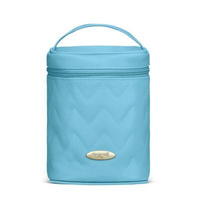 Imagem 4 do produto Bolsa maternidade para bebe Gênova + Frasqueira Térmica Nápoli + Frasqueira Térmica Firenze + Trocador Chevron Turmalina - Classic for Baby Bags