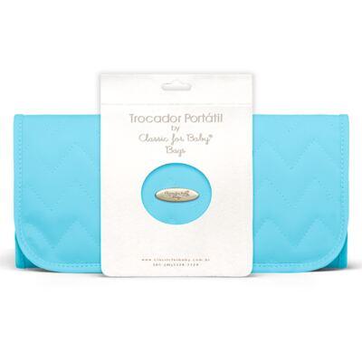 Imagem 6 do produto Bolsa maternidade para bebe Gênova + Frasqueira Térmica Nápoli + Frasqueira Térmica Firenze + Trocador Chevron Turmalina - Classic for Baby Bags
