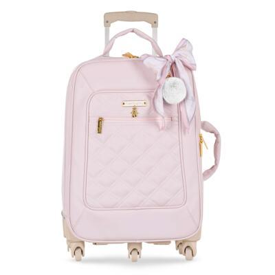 Imagem 2 do produto Mala Maternidade com Rodízio + Bolsa Anne + Bolsa térmica organizadora + Necessaire Ballet Rosa - Masterbag
