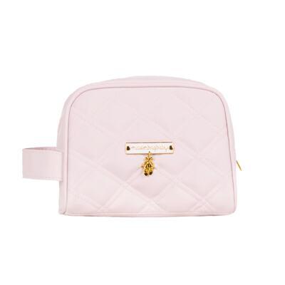 Imagem 5 do produto Mala Maternidade com Rodízio + Bolsa Anne + Bolsa térmica organizadora + Necessaire Ballet Rosa - Masterbag
