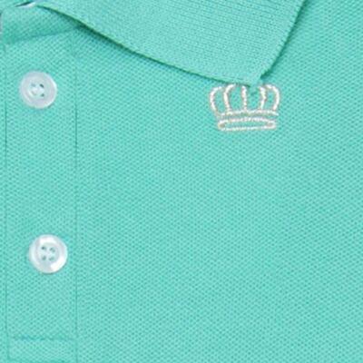 Imagem 2 do produto Polo para bebe em piquet Soft Green - Baby Classic