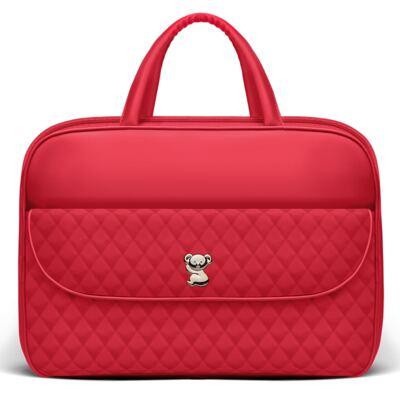 Imagem 2 do produto Mala Maternidade  + Kit Acessórios + Trocador Portátil + Frasqueira Térmica Firenze + Mini Bolsa para bebe Colors Cherry - Classic for Baby Bags