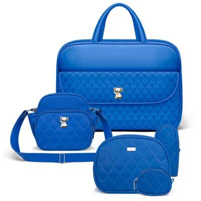 Imagem 1 do produto Kit Mala Maternidade para bebe + Frasqueira Térmica Guadalupe +  Kit Acessórios Colors Klein - Classic for Baby Bags