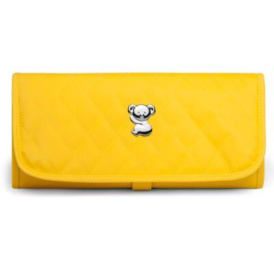 Imagem 5 do produto Kit Mala Maternidade para bebe + Bolsa Havana + Frasqueira Térmica Aruba + Trocador Portátil Colors Yellow - Classic for Baby Bags