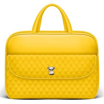 Imagem 2 do produto Kit Mala Maternidade + Bolsa Montserrat + Frasqueira Térmica St. Marteen Colors Yellow - Classic for Baby Bags