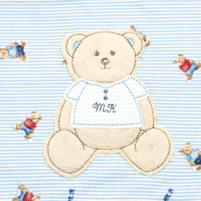 Imagem 2 do produto Colchão para carrinho em malha Kody Bear - Classic for Baby - CCM1291 COLCHÃO P/ CARRINHO MALHA URSO UN