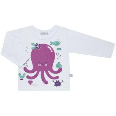 Imagem 2 do produto Pijama longo em malha Polvinha - Cara de Sono - L1994 POLVA L PJ-LONGO M/MALHA -4