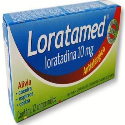 Imagem 5 do produto Loratadina - Loratamed Comprimido - 10mg, caixa com 12 comprimidos - Cimed -