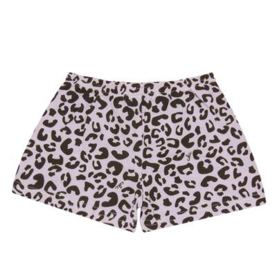 Imagem 7 do produto Pijama curto que Brilha no Escuro Onça Pintada - Cara de Criança - U1820 ONCA PINTADA PIJAMA-CURTO M/MALHA -2