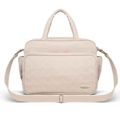 Imagem 3 do produto Mala Maternidade para bebe + Bolsa Turin + Térmica Trento +  Térmica Firenze + Kit Acessórios Chevron Ágata - Classic for Baby Bags