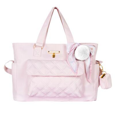 Imagem 3 do produto Mala Maternidade com Rodízio + Bolsa Sú Ballet Rosa - Masterbag
