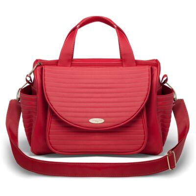 Imagem 3 do produto Kit Mala Maternidade para bebe + Bolsa Renan + Kit Acessórios Golden Vermelho- Classic for Baby Bags