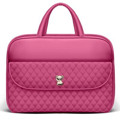 Imagem 2 do produto Kit Mala Maternidade para bebe + Frasqueira Térmica Guadalupe + Necessaire Farmacinha Colors Pink - Classic for Baby Bags