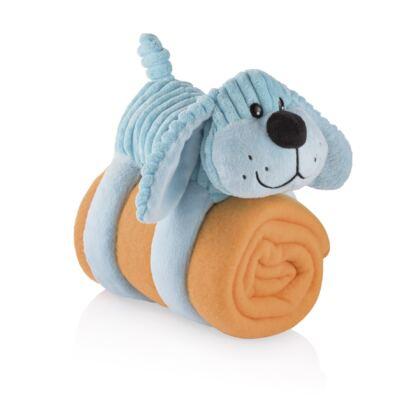 Imagem 1 do produto Cobertor com Travesseiro de Pelúcia 3 em 1 Cachorro Multikids Baby - BB197