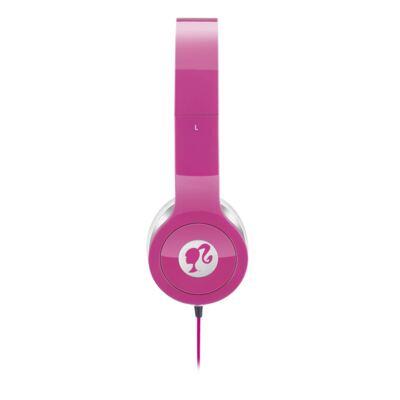 Imagem 2 do produto Fone de Ouvido Multilaser Headphone Da Barbie Rosa P2 - PH098