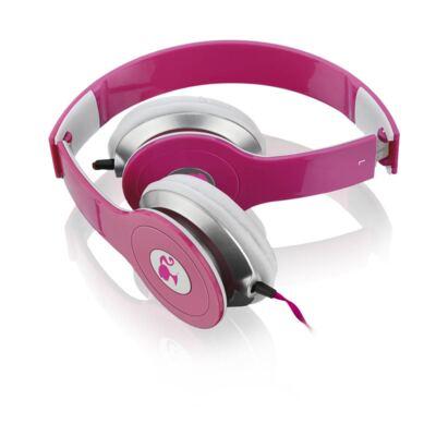Imagem 3 do produto Fone de Ouvido Multilaser Headphone Da Barbie Rosa P2 - PH098