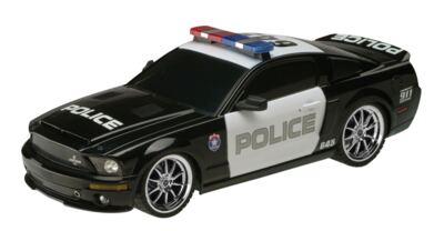 Imagem 1 do produto Carrinho Controle Remoto XQ - Ford GT500 Police Car - 1:18 - BR448