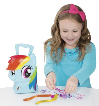 Imagem 1 do produto My Little Pony Maleta Rainbow Dash Estilista - BR377