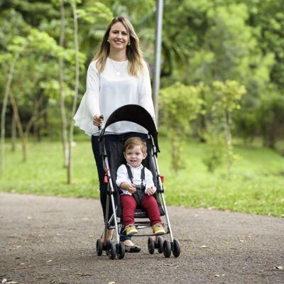 Imagem 6 do produto Carrinho de Bebê Guarda-chuva Weego Way Preto