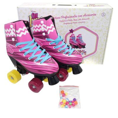 Imagem 1 do produto Patins Sou Luna Roller Skate 2.0 Tam. 34 Multikids - BR719