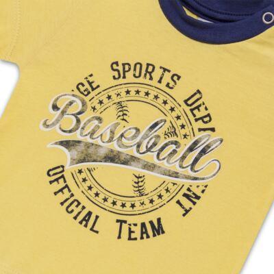 Imagem 3 do produto Camiseta com Shorts em tactel Baseball - Vicky Lipe - 9451367 CAMISETA MC C/ SHORTS TACTEL SPORT 2-1