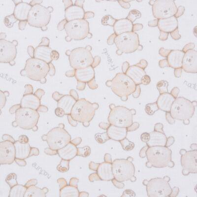 Imagem 3 do produto Pack: 02 Bodies longos para bebe em algodão egípcio c/ jato de cerâmica Nature Little Friends - Mini & Classic - 1023650 PACK 2 BODIES ML SUEDINE NATURE -RN