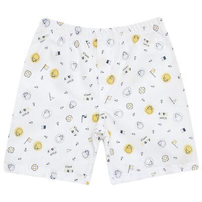 Imagem 3 do produto Camiseta com Shorts em tactel Hippo Sailor - Vicky Lipe - 945563 CAMISETA MC C/ SHORTS TACTEL HIPPO NAVY-M