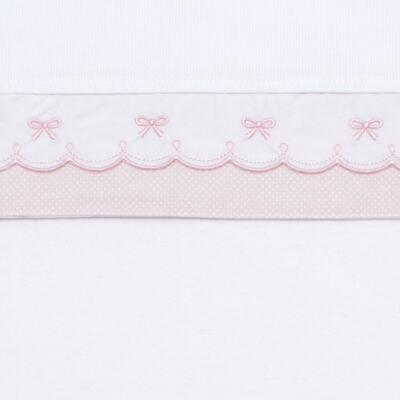 Imagem 2 do produto Jogo de lençol para berço em malha Lacinhos - Classic for Baby
