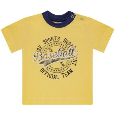 Imagem 2 do produto Camiseta com Shorts em tactel Baseball - Vicky Lipe - 9451367 CAMISETA MC C/ SHORTS TACTEL SPORT 2-G