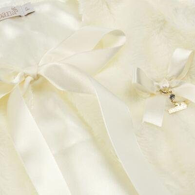 Imagem 2 do produto Casaco de pele para bebe Marfim - Roana - 06032006031 Casaco de Pele Marfim-M