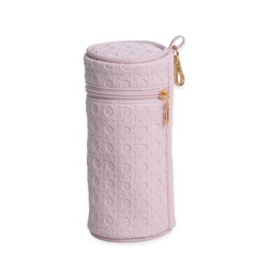 Imagem 5 do produto Mala maternidade para bebe + Bolsa maternidade + Frasqueira térmica + Porta Mamadeira + Trocador portátil Tressê Rosa - Majov