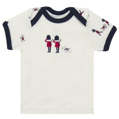 Imagem 2 do produto Camiseta com Cobre Fralda em algodão egípcio Royal Guard - Bibe - 39G80-G93 CJ CUR M CM+TP BY BIBE-M